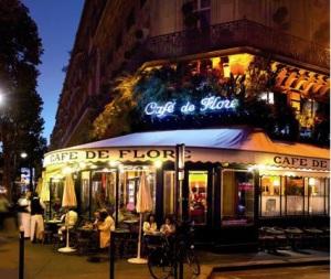 café de Flore et sa terrasse, Paris 6e