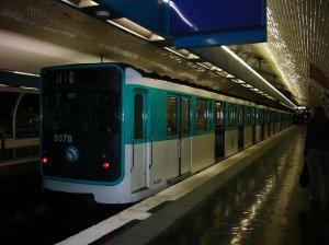 une rame du métro parisien