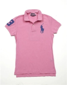 polo rose de chez Ralph lauren