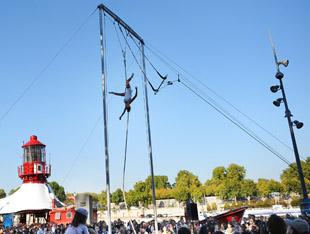 photo de Spectaculaire 2009 des trapézistes