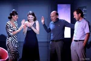 photo les quatre comédiens