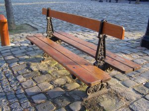 photo de banc public paris