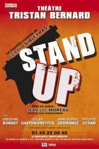 affiche de la pièce Stand Up théâtre Tristan bernard Paris