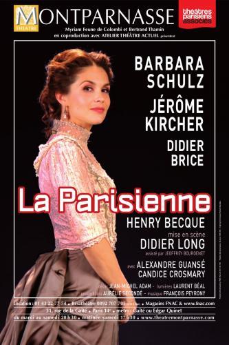 affiche la parisienne theatre montparnasse