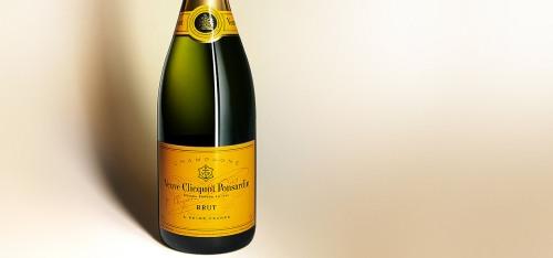 photo de champagne veuve cliquot