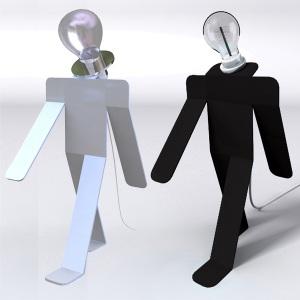 photo de deux personnages moonwalk