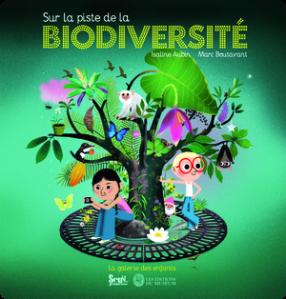 couverture du livre sue la piste de la biodiversité