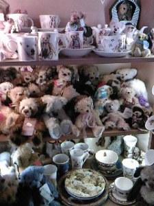 dans la boutique l'ours du marais