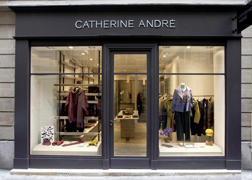 Catherine Andr 233 Ouverture Dans Le 16e Parisienne 224