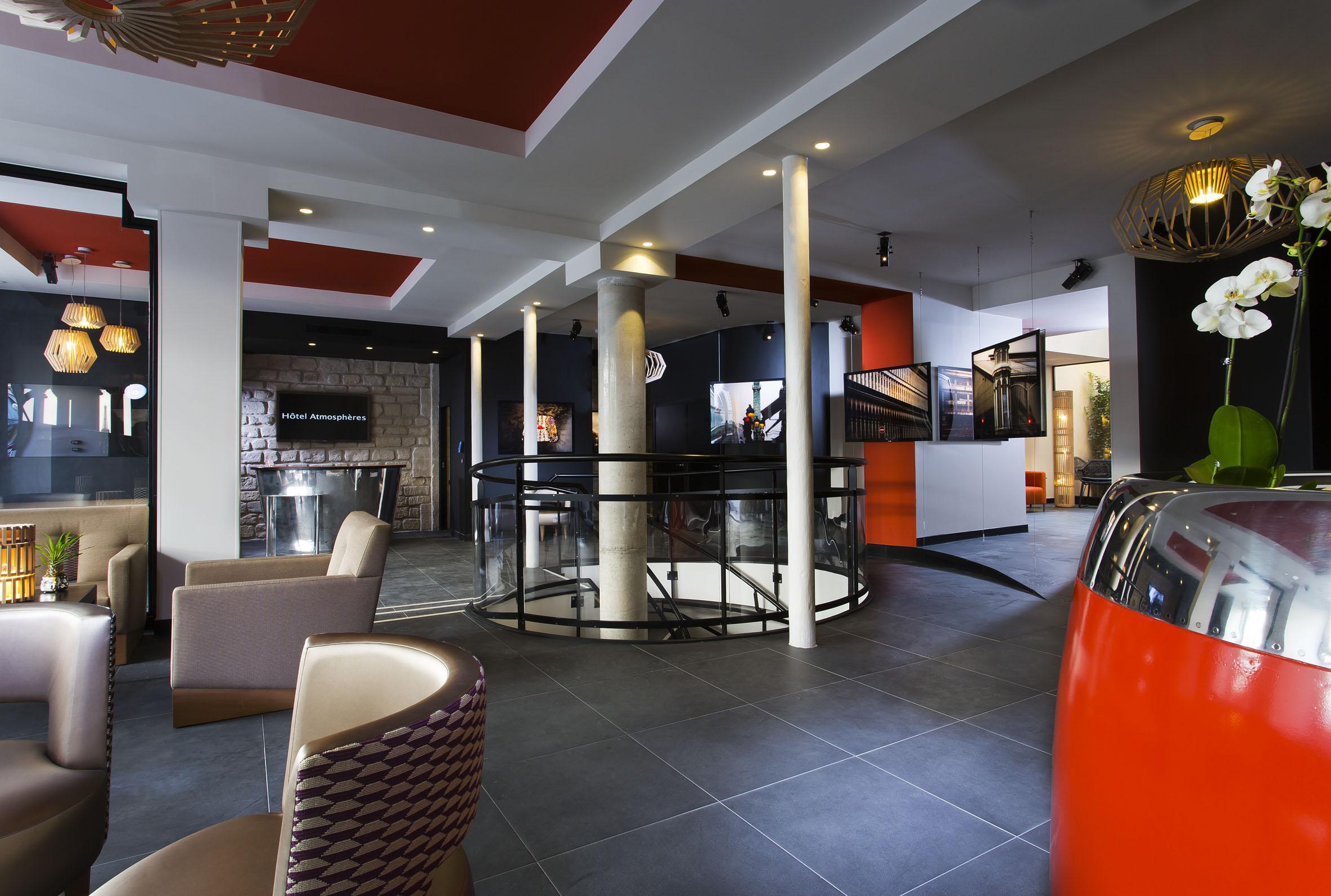 Atmosph res un h tel design c t paris 5e parisienne for Hotel design paris 8