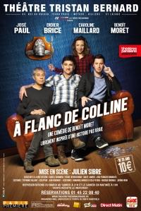 A FLANC DE COLLINE Affiche