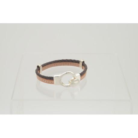 bracelet-en-cuir-beige-et-marron